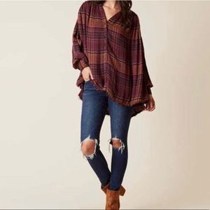 Free People Come On Over Tunic